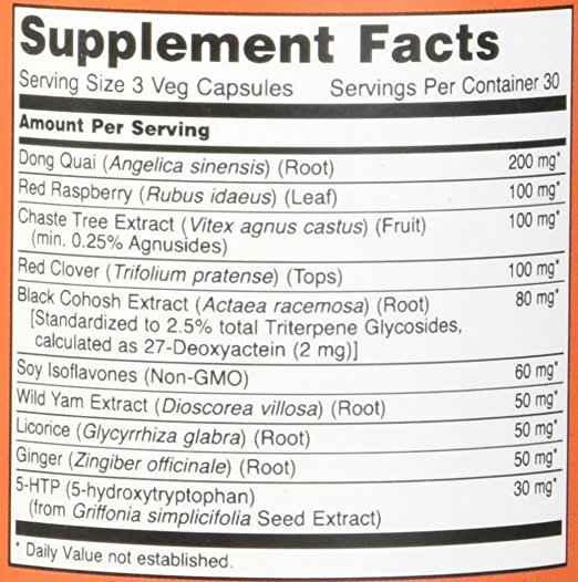 Menopausa Suporte 90 caps - NOW Foods | Remedio e Tratamento natural