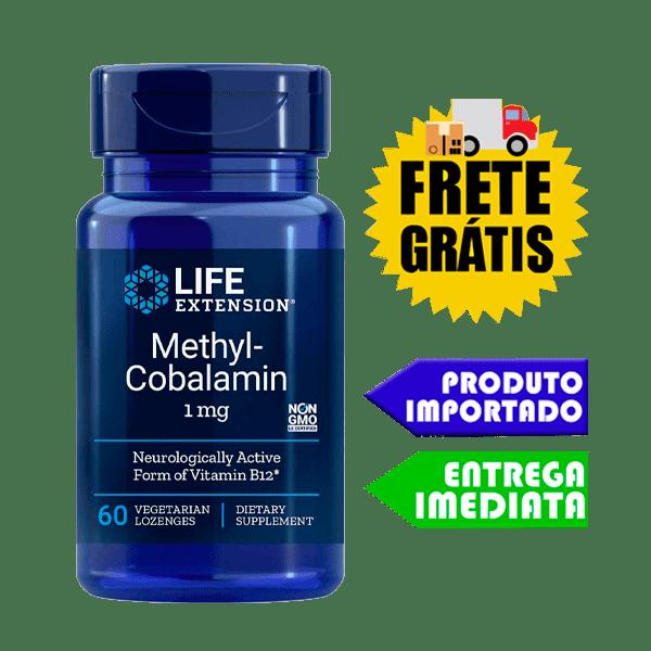 Metilcobalamina - Life Extension (1mg - 60 cáps) (Vitamina B12)