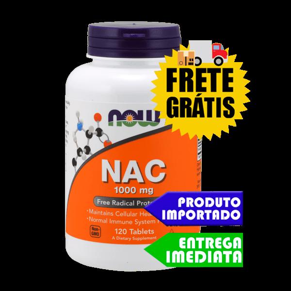 N Acetil cisteina ( NAC ) 1000 mg Now Foods - 120 tabletes