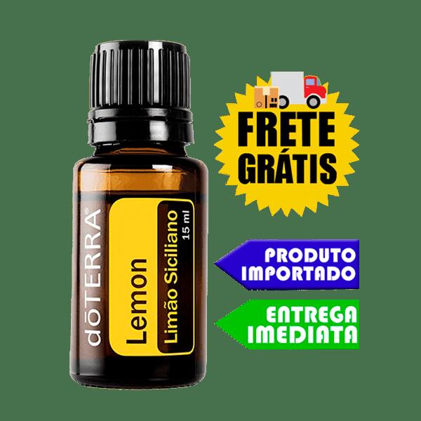 Óleo Essencial de Limão Siciliano - doTERRA ( 5ml - 100 Gotas ) (Uso Interno / Externo)
