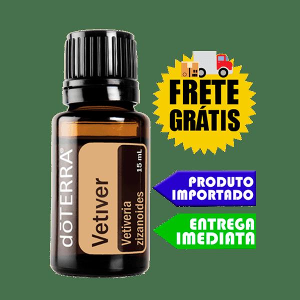 Óleo Essencial de Vetiver - Vetiveria zizanoides   doTERRA - 15 ml