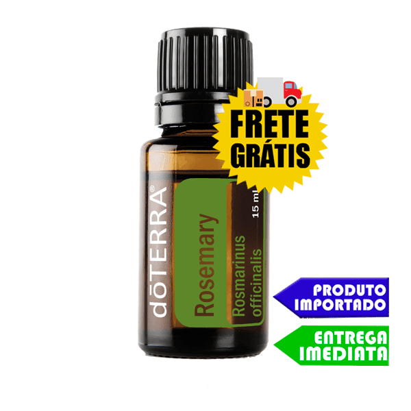 Óleo Essencial de Alecrim - Rosemary | doTERRA - 5 ml