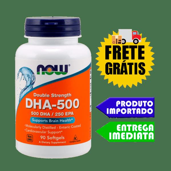 Ômega 3 DHA 500 EPA 250 - Now Foods (90 capsulas)