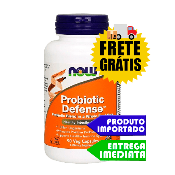 Probiótico Defense - Now Foods