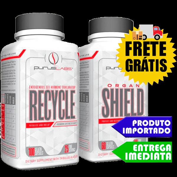 Promoção Organ Shield + Recycle - Purus Labs   FAÇA SUA TPC AQUI !