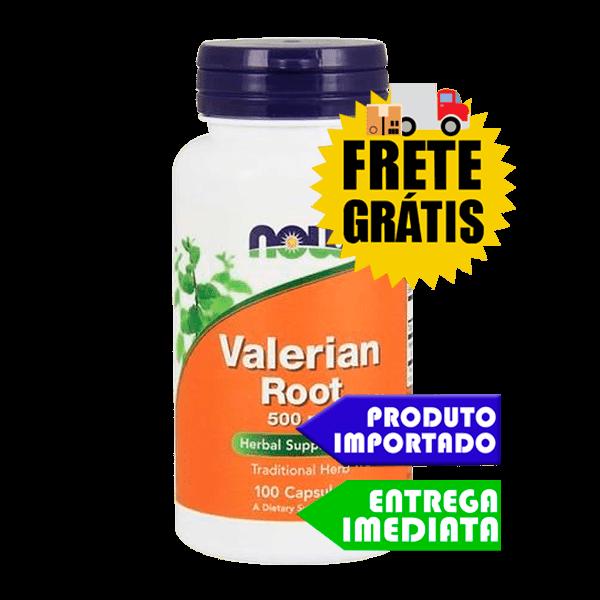 Raiz de Valeriana - Now Foods (500mg - 100caps)
