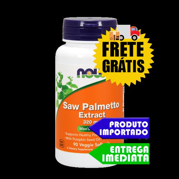 Saw Palmetto - Now Foods (90 cáps)