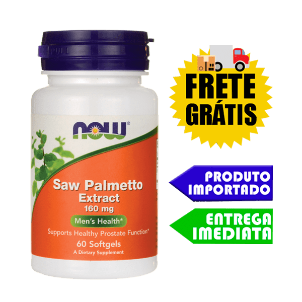 Saw Palmetto - Now Foods (160 mg - 60 Softgels)