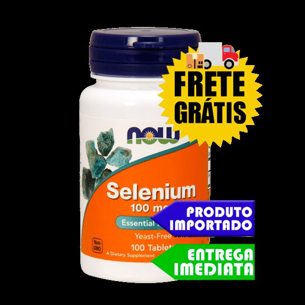 Selênio 100mcg - Now Foods (100 cápsulas)
