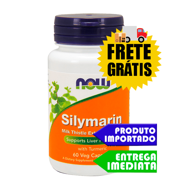 Silimarina 150 mg - Now Foods (60 cápsulas)