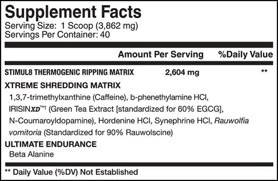 Stimul 8 - Finaflex (240gr - 40 Doses)