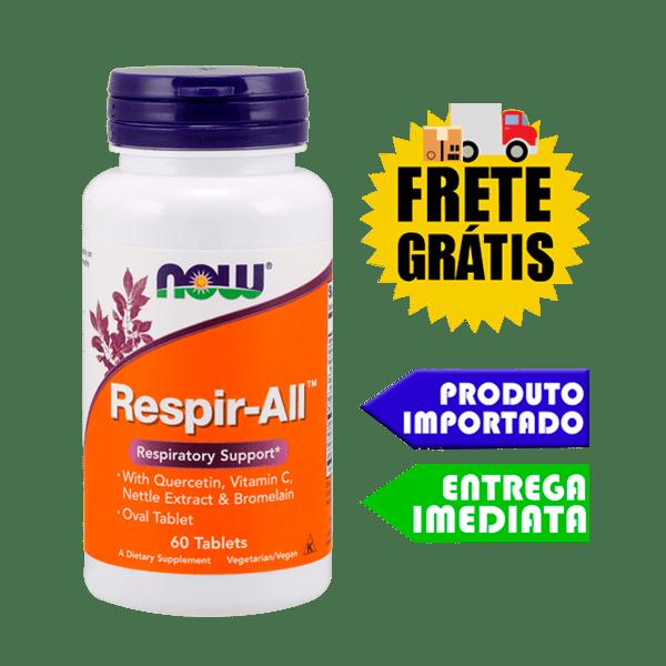 Suporte Pulmonar - Now Foods | Remédio natural para Tuberculose, Asma e Bronquite
