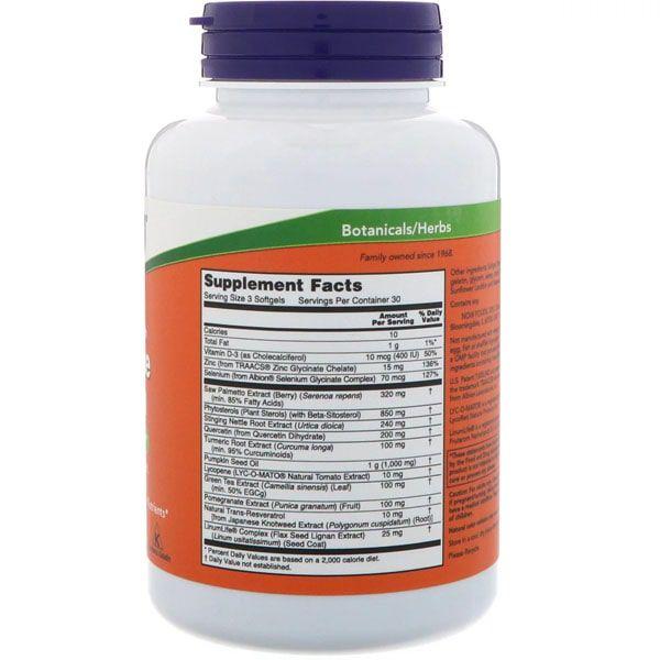Suporte para Próstata - Now Foods (90 cápsulas)