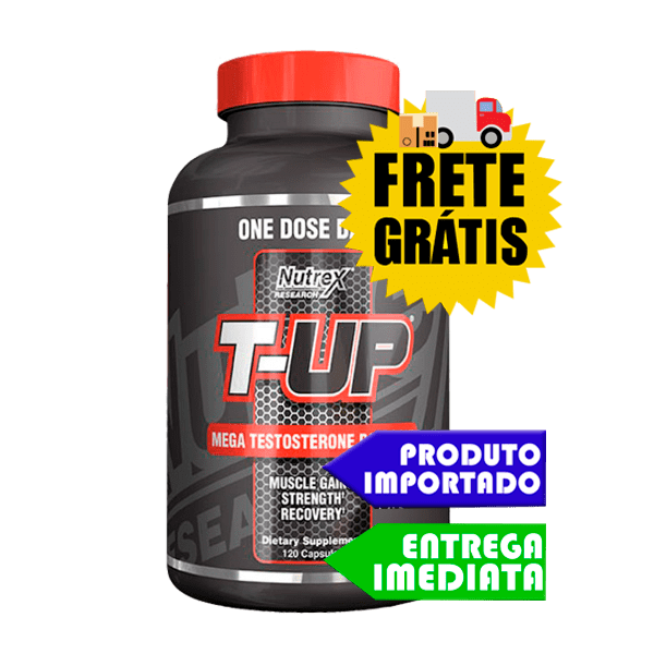 T-UP - Nutrex (120 cápsulas)