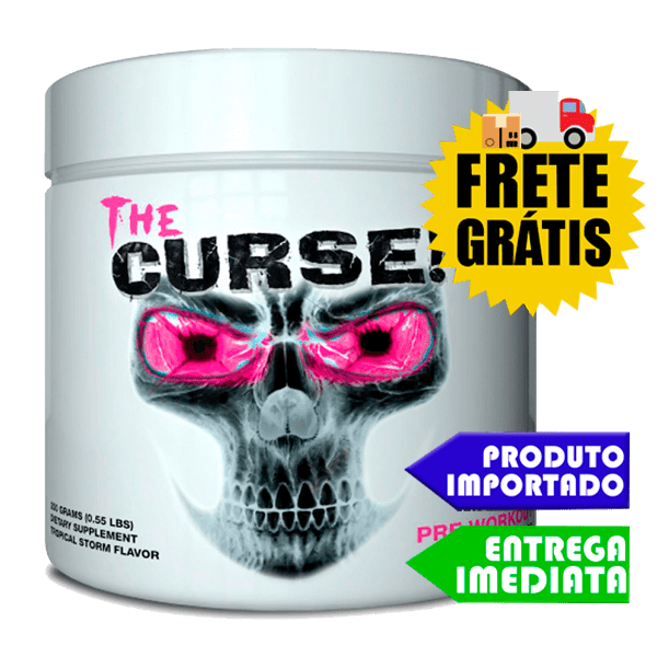 The Curse 50 doses - Cobra Labs (250Gr) - IMPORTADO