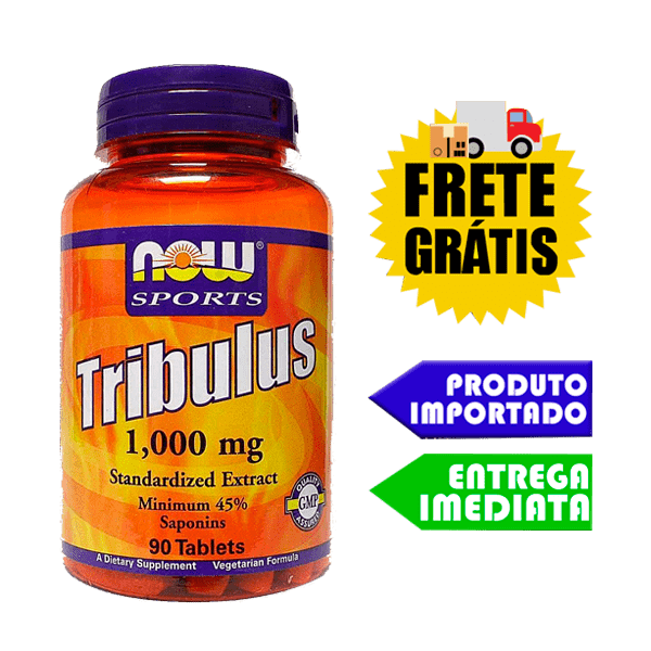 Tribulus Terrestris Now foods - 1000mg (90 tablets)