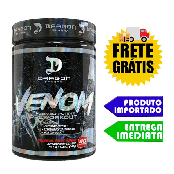 VENOM - Dragon Pharma - 300 Gr (importado)