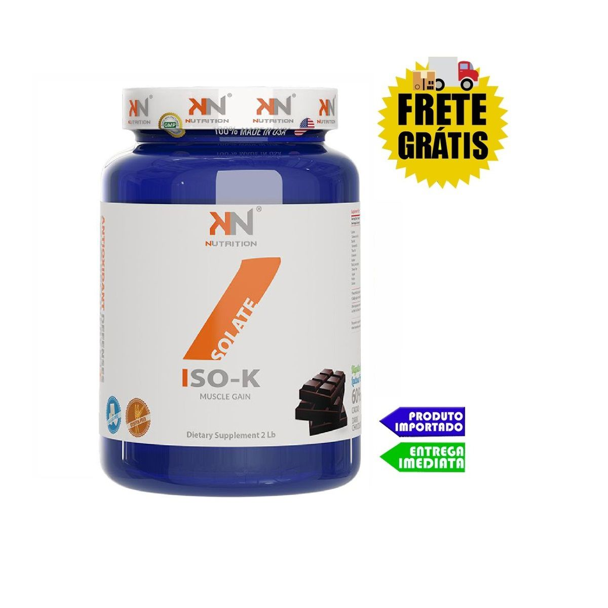 Whey Protein Isolado ISO K - KN Nutrition (900 gr)