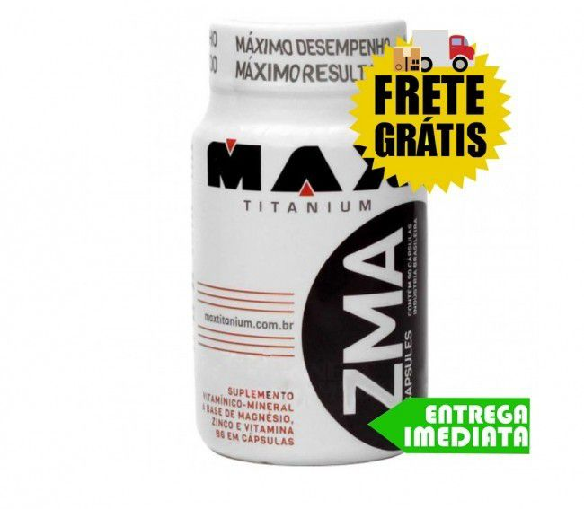 ZMA - Max Titanium (90 cápsulas)