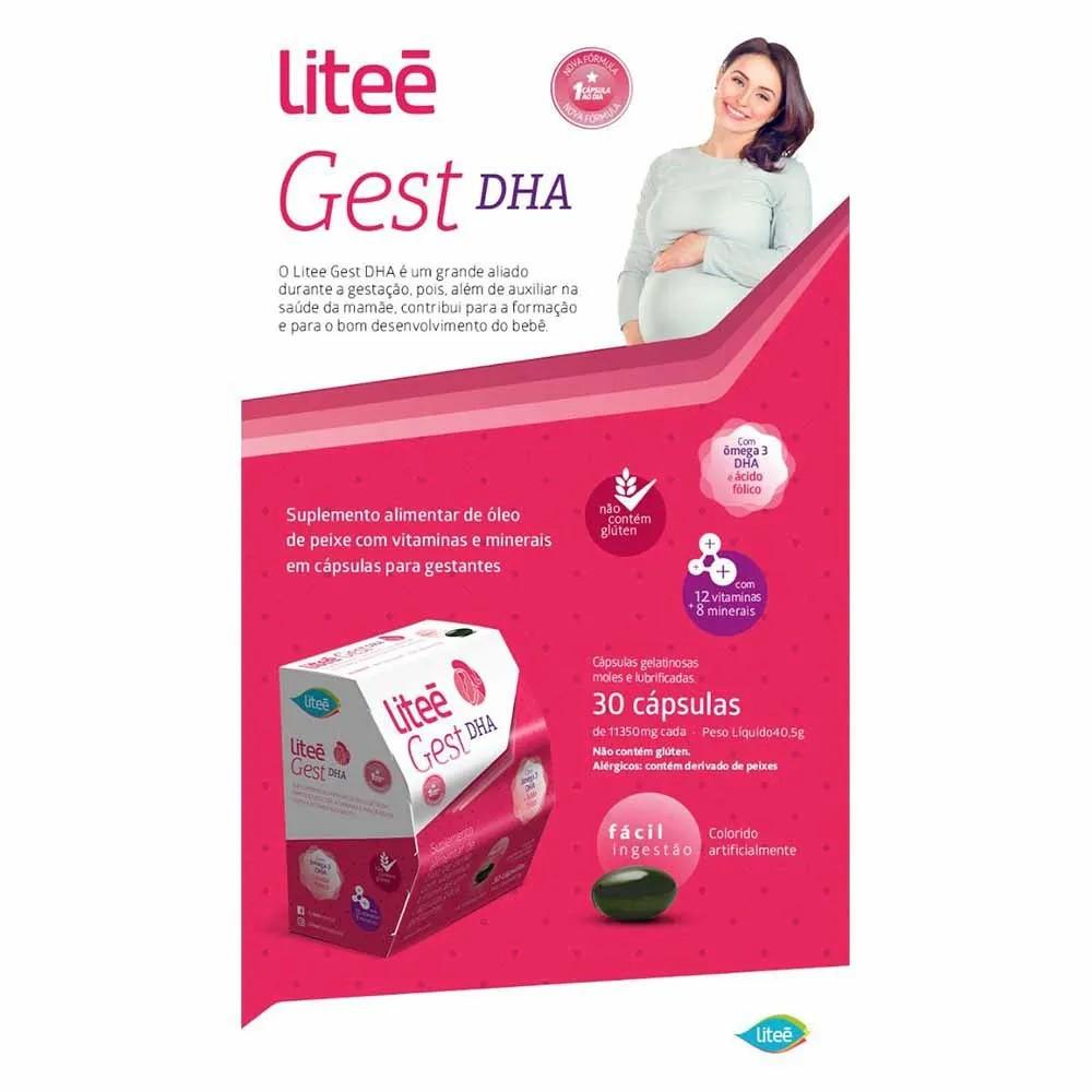 7 LiteéGest DHA Liteé 30 Cápsulas