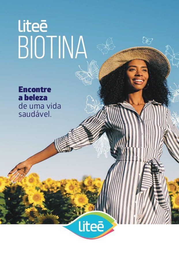 Biotina Litee 60 Cápsulas Gelatinosas
