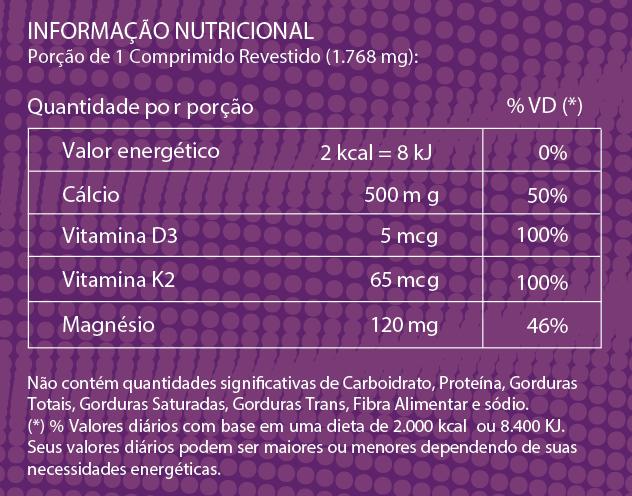 Cálcio MDK - 30 Comprimidos Revestidos