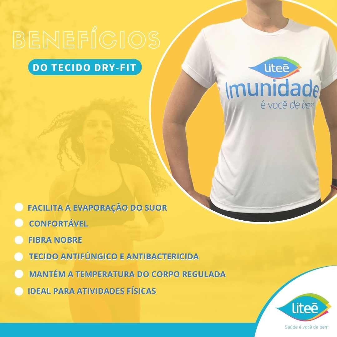 Camiseta Dry-Fit Litee (Imunidade é você de bem) - P