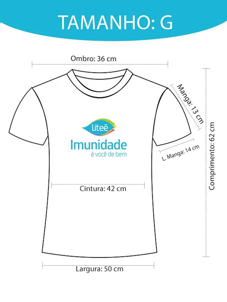 Camiseta Dry-Fit Litee (Imunidade é você de bem) - G