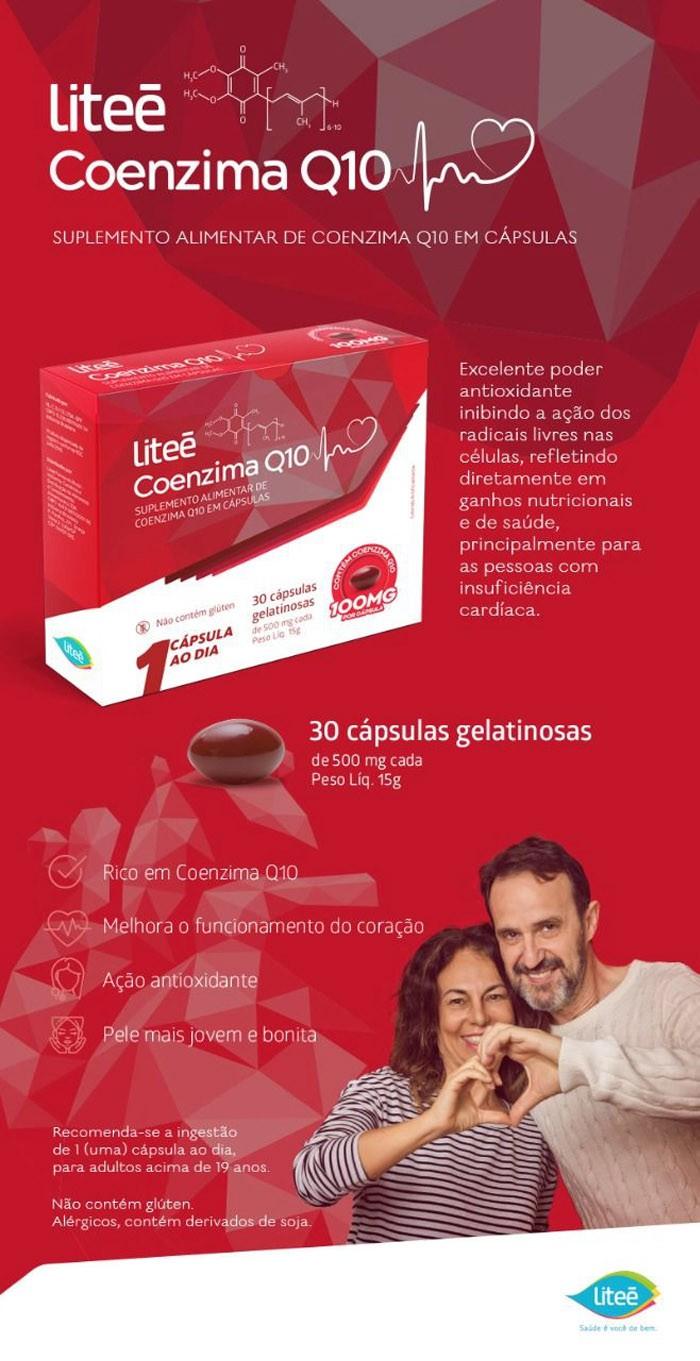 Coenzima Q10 30 Cápsulas Gelatinosas - 100MG