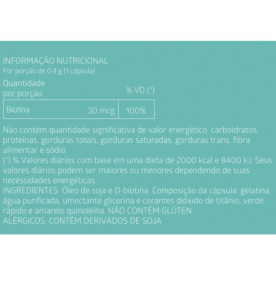Leve 6 Pague 5 Biotina Liteé 60 Cápsulas Gelatinosas