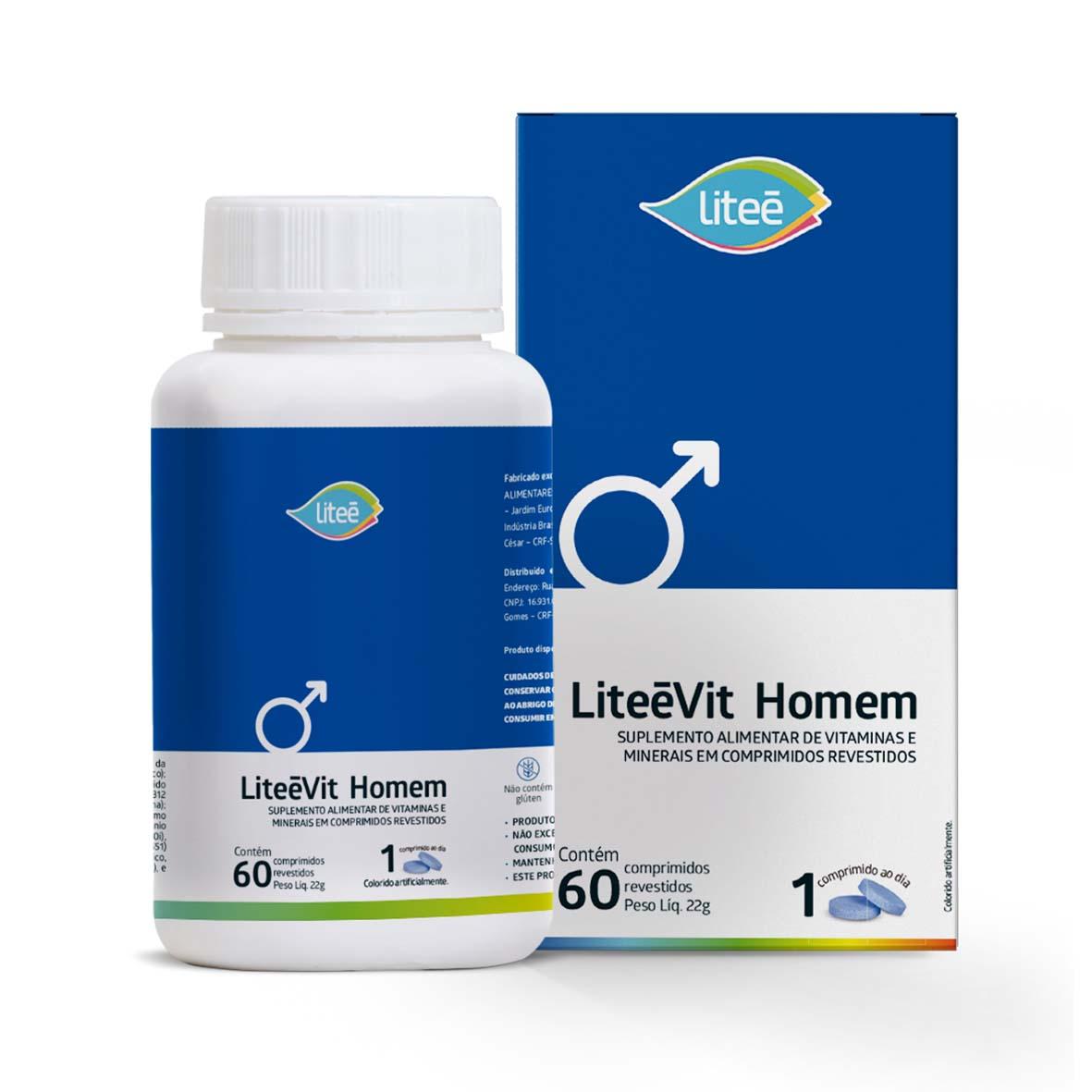 Combo Multivitamínicos LiteeVit - Imunidade para Toda Família