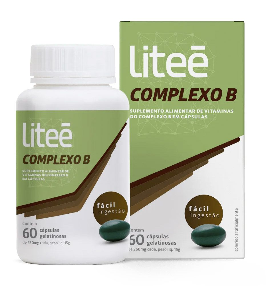 Complexo B Litee 60 Cápsulas Gelatinosas