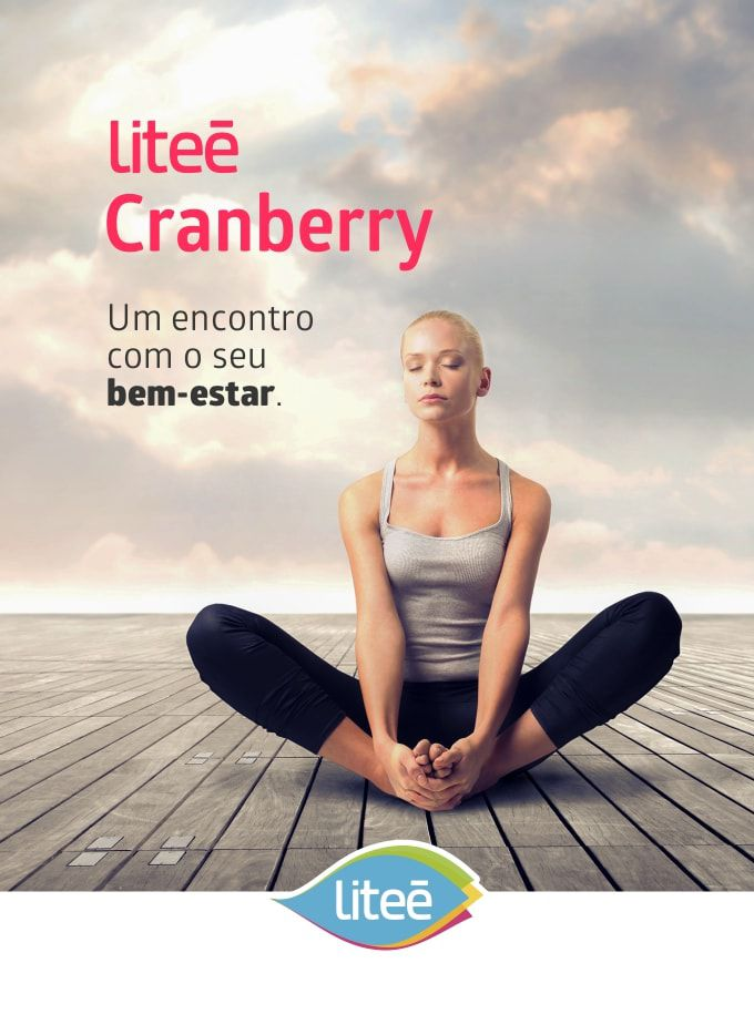 3 Cranberry Liteé com 30 Cápsulas Gelatinosas