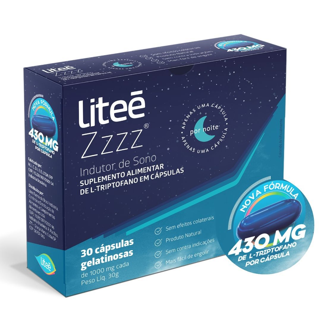 Combo Bons Sonhos - 3 unidades de Litee Zzzz com 30 cápsulas cada