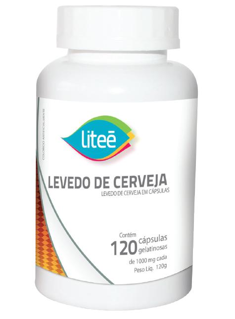LEVEDO DE CERVEJA 120 Cápsulas Gelatinosas
