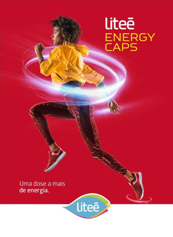 Litee Energy Caps Cafeína 420mg 10 Cápsulas