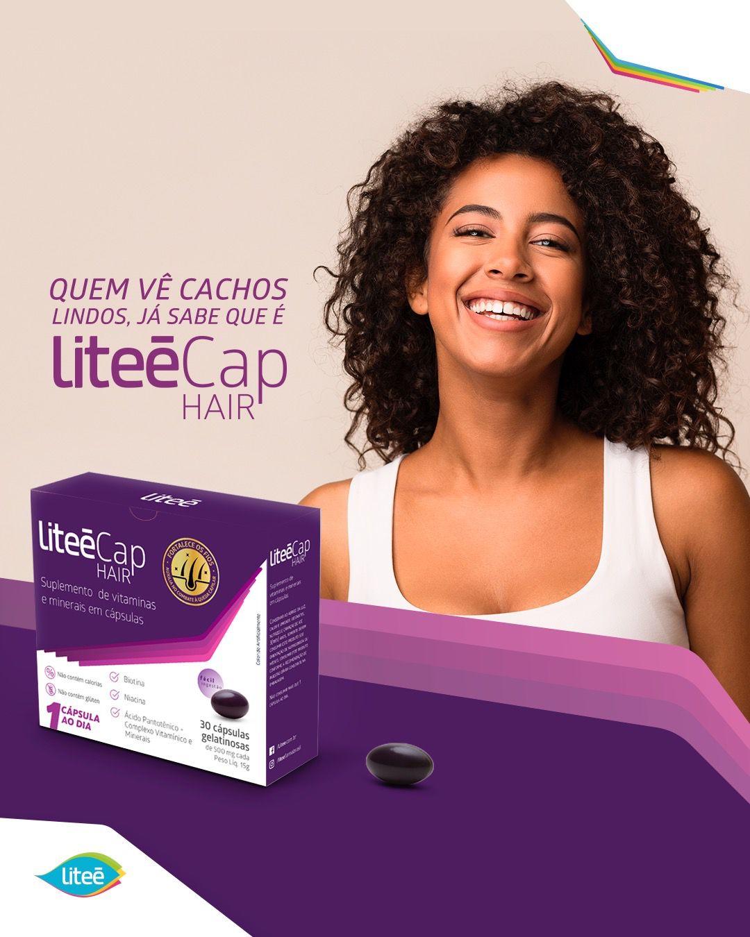 LITEECAP HAIR 30 Cápsulas Gelatinosas