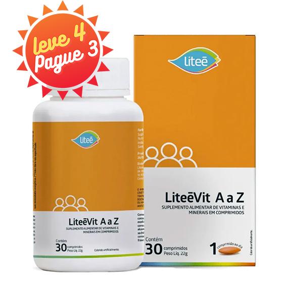 Liteevit A  Z Multivitamínico -  30 Comprimidos