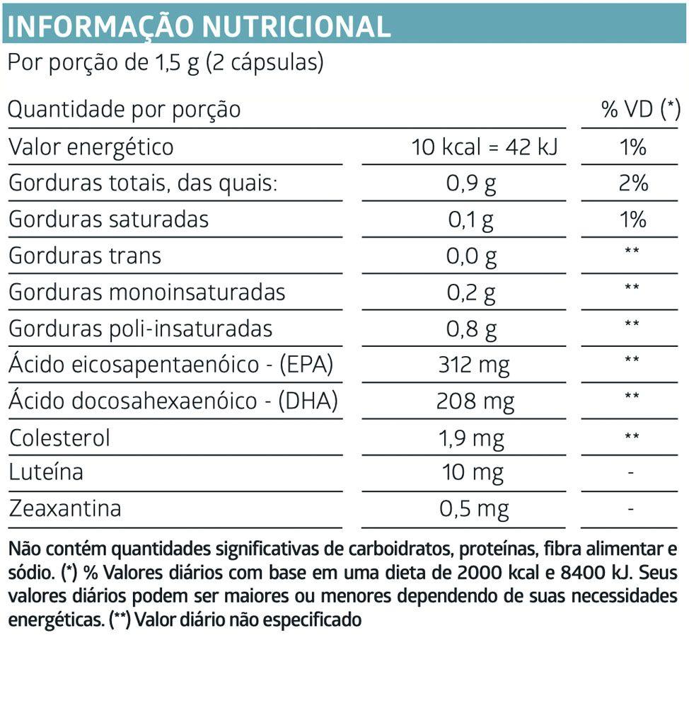 LiteeVit Luteína 60 Cápsulas Gelatinosas