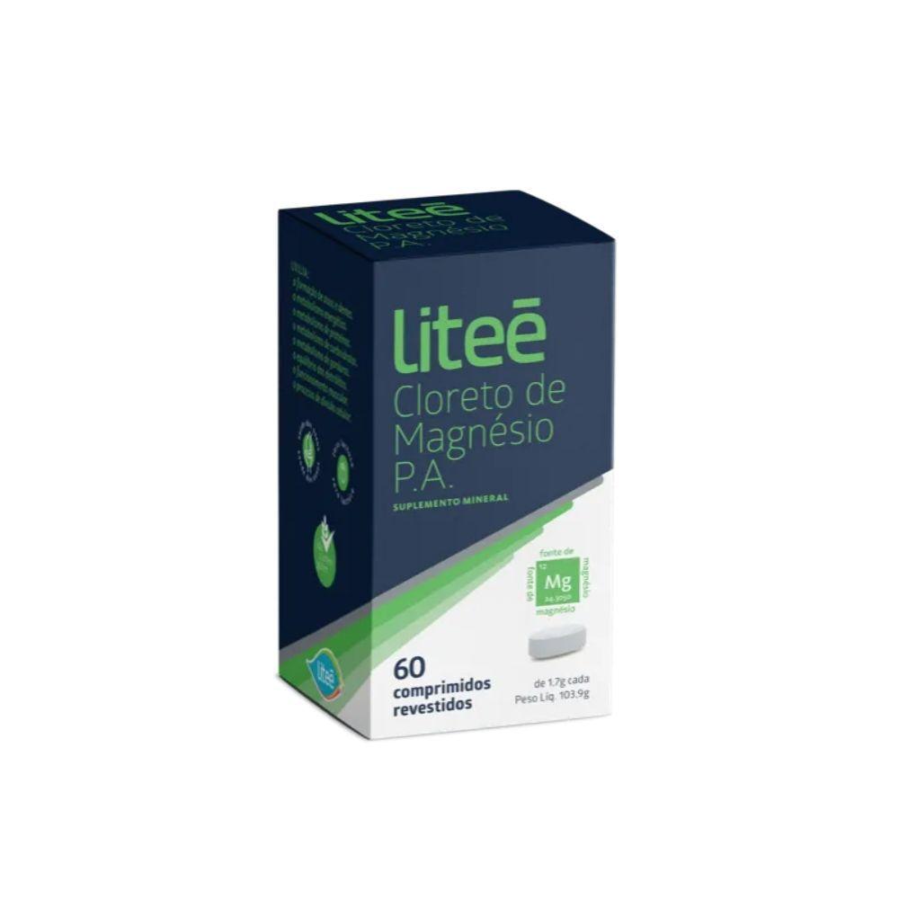Cloreto de Magnésio PA Liteé - 60 Comprimidos