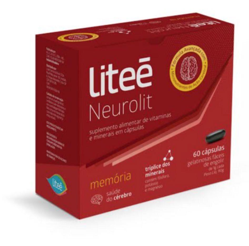 Neurolit Multivitamínico Para Memória- 60 Cápsulas Gelatinosas