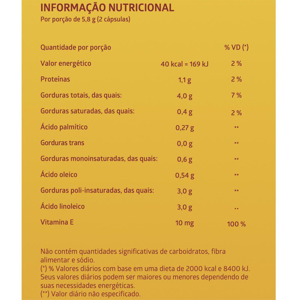 ÓLEO CARTAMO 60 Cápsulas Gelatinosas