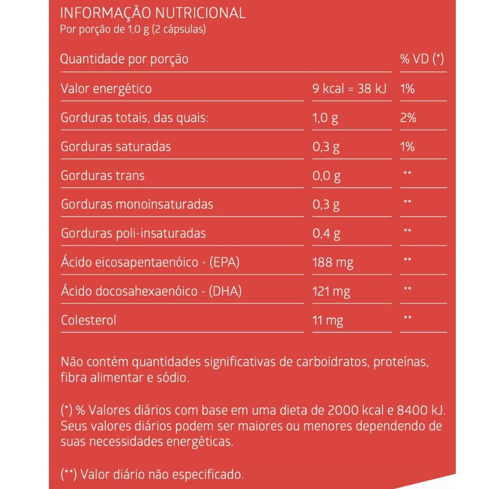 ÓLEO DE KRILL 60 Cápsulas Gelatinosas