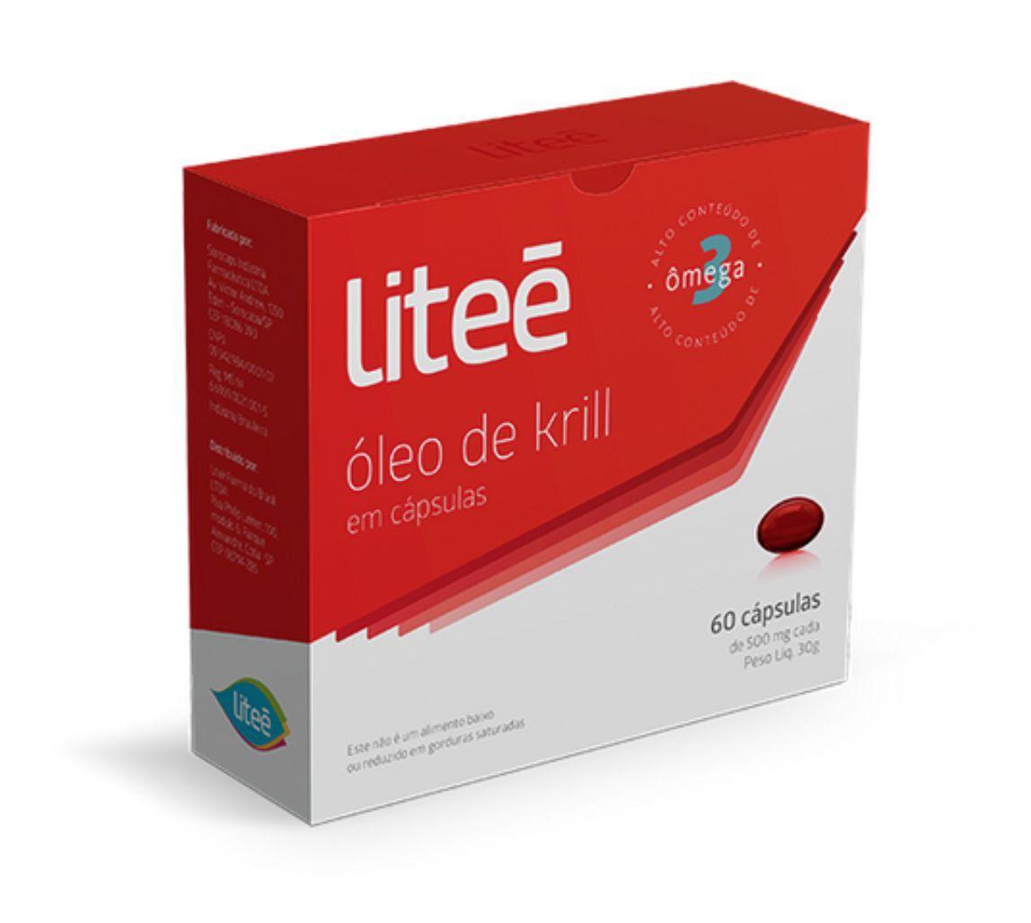 3 Óleo de Krill - 60 Cápsulas Gelatinosas