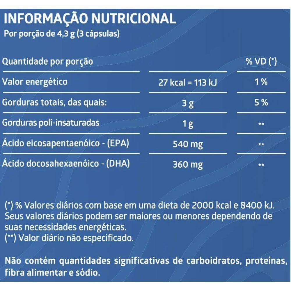 Ômega 3 - 120 Cápsulas Gelatinosas