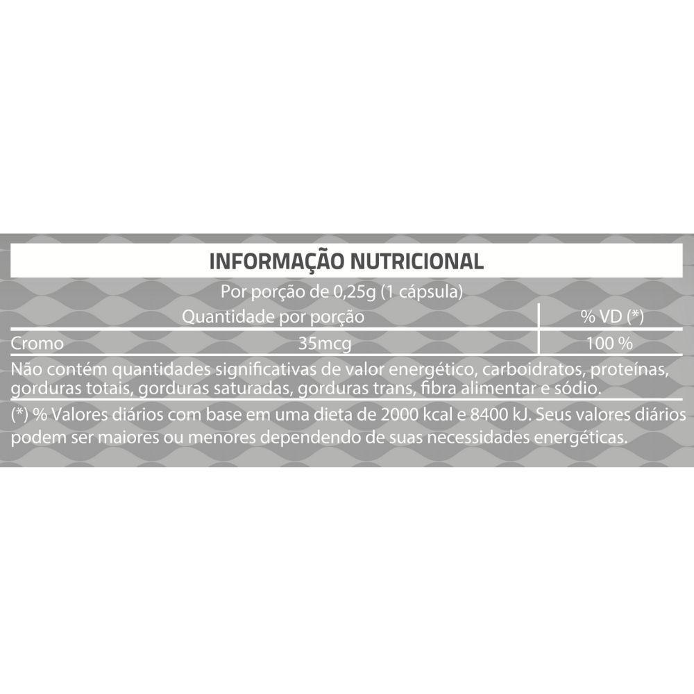 PICOLINATO DE CROMO 60 Cápsulas Gelatinosas