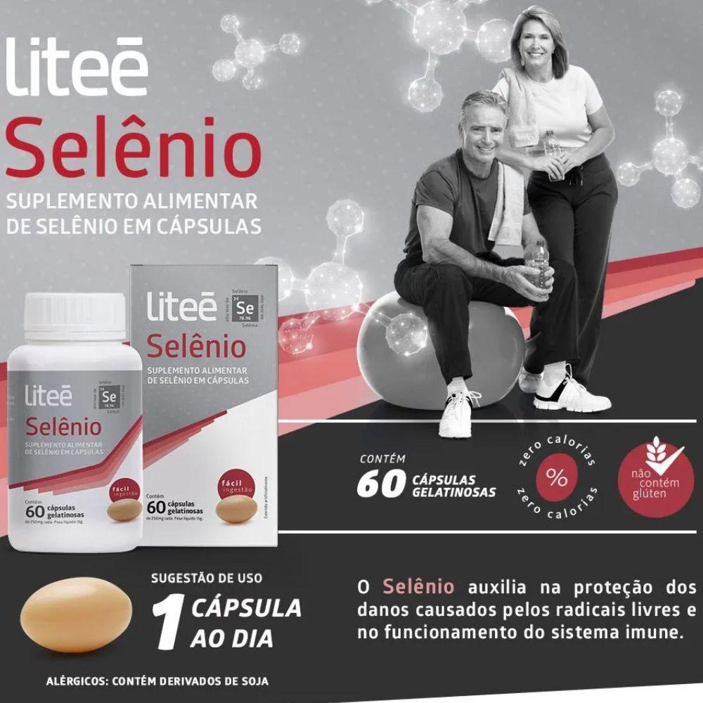 SELÊNIO 60 Cápsulas Gelatinosas