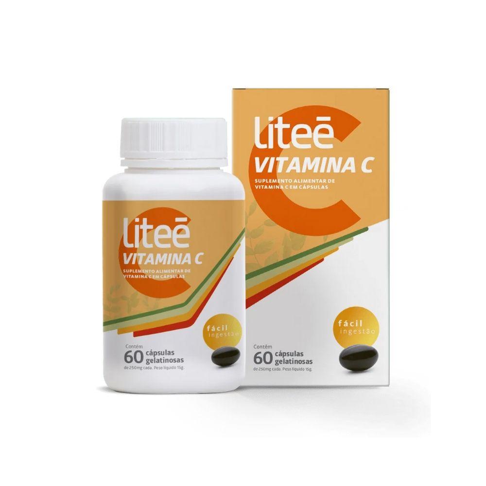 Vitamina C 60 Cápsulas Gelatinosas
