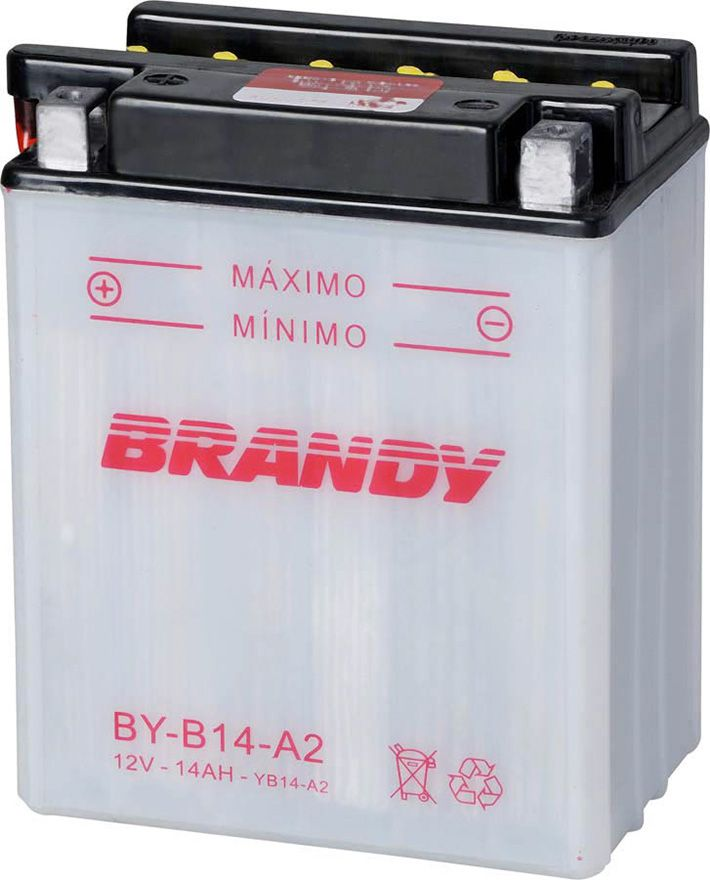 Bateria Brandy Byb14a2/yb14a2 Cbx750 0011