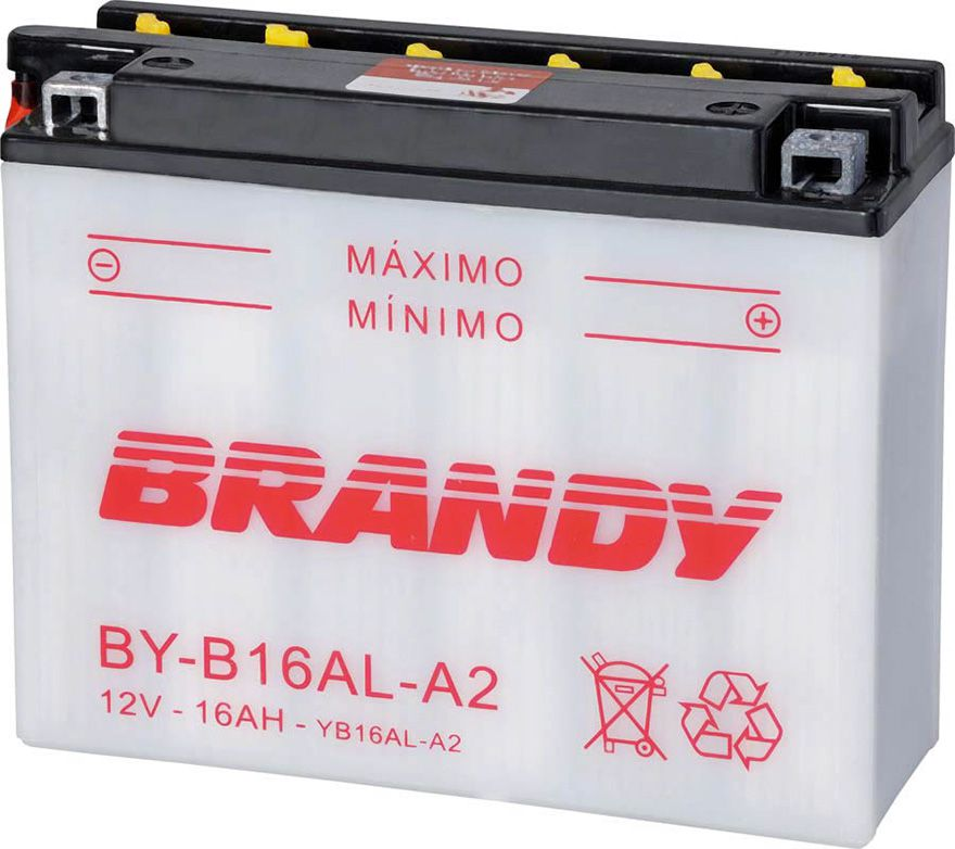 Bateria Brandy Byb16ala2/yb16ala2 Vmax/virago